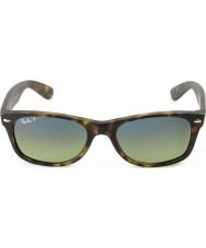 RayBan RB2132 55 nouveaux matte wayfarer écaille de tortue 894-76 lunettes de soleil polarisées