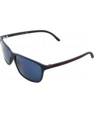 Polo Ralph Lauren Ph4092 58 bleu mat 550680 lunettes de soleil
