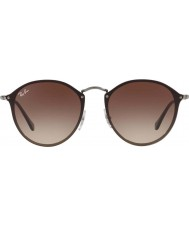 RayBan Blaze round rb3574n 59 004 13 lunettes de soleil