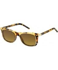 Marc Jacobs Marc 17 s U63 vo havane lunettes de soleil d'or