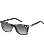 Marc Jacobs Marc 17-s Z07 ur des lunettes de soleil de palladium noir