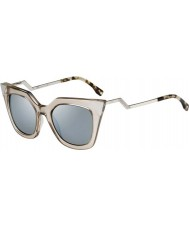 Fendi Iridia de 0060-s MSQ lunettes de soleil de cristal 3u