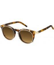 Marc Jacobs Marc 18-s u6j zx havane lunettes de soleil d'or