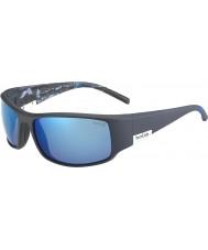 Bolle Roi mat mer bleue polarisée lunettes de soleil bleu mer