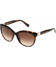Furla Mesdames Zizi su4896s-743 brillants brun lunettes de soleil havane jaune
