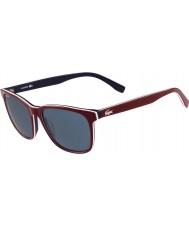 Lacoste lunettes de soleil rouges L833s