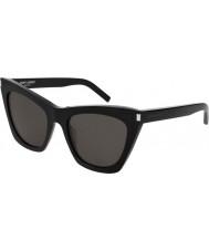Saint Laurent Ladies sl 214 kate 001 55 lunettes de soleil