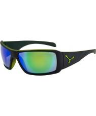 Cebe Utopy mat des lunettes de soleil noir vert