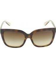 Michael Kors Mk6016 54 glam tortoiseshell smokey transparents 305413 lunettes de soleil