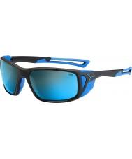 Cebe Proguide noir mat bleu 4000 minéraux gris lunettes de soleil bleu