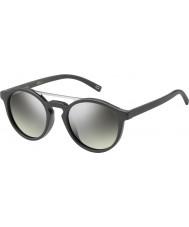 Marc Jacobs Marc 107-s drd gy argent gris foncé lunettes de soleil miroir