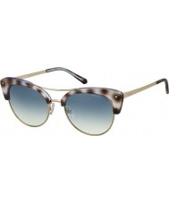Polaroid Ladies pld4045-s mss z7 noir cuivre d'or havana lunettes de soleil polarisées