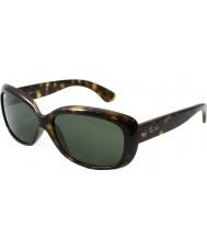 RayBan Rb4101 58 jackie ohh lumière tortoiseshell 710 lunettes de soleil