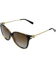 Michael Kors Mk6006 57 lunettes de soleil marrakesh 3006t5 écaille foncé polarisées