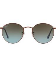 RayBan Rb3447 53 métal ronde bronze foncé brillant 900396 lunettes de soleil