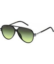 Marc Jacobs Marc 44-s d28 ib lunettes de soleil noires brillantes