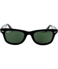 RayBan Rb2140 wayfarer original noir - vert polarisé