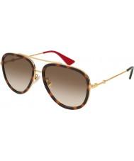 Gucci Mesdames gg0062s 012 57 lunettes de soleil