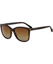 Emporio Armani Ea4060 56 loisirs essentiel havane 5026t5 lunettes de soleil polarisées