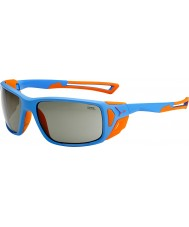 Cebe Proguide mat bleu orange, des lunettes de soleil variochrom de pointe