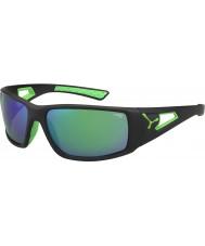 Cebe Session noir vert miroir 1500 gris lunettes vertes