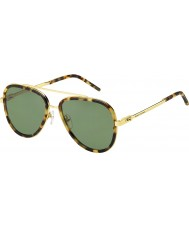 Marc Jacobs Mens marc 136-s lsh dj repéré havane lunettes de soleil d'or