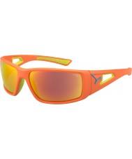 Cebe Session d'orange chaux 1500 miroir gris lunettes de soleil orange