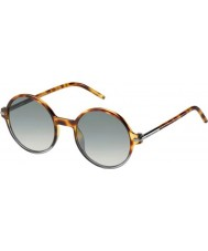 Marc Jacobs Hommes marc 48 s TMV vk spotted havana ombrée lunettes de soleil gris