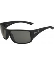 Bolle Noir brillant tns serpent-tigre lunettes de soleil polarisées