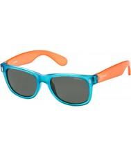 Polaroid Enfants p0115 lunettes de soleil 89t y2 orange bleu polarisés