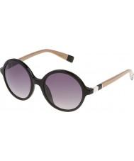 Furla Ladies lola su4966-700y lunettes de soleil noires brillantes