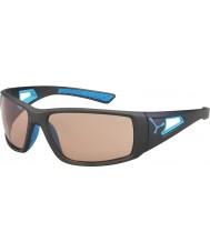 Cebe Session mat variochrom gris bleu lunettes de soleil perfo
