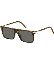 Marc Jacobs Mens marc 46-s TLR lunettes de soleil 8h havane