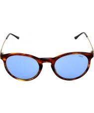 Polo Ralph Lauren Ph4096 50 flair classique rayé havane 500772 lunettes de soleil