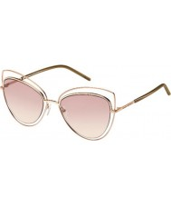 Marc Jacobs Mesdames marc 8-s TXA 05 lunettes de soleil marron d'or
