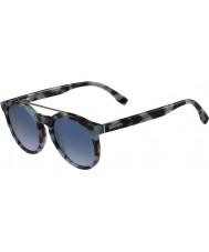 Lacoste L821s lunettes de soleil havane azur