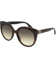 Gucci Ladies gg0325s 002 55 lunettes de soleil