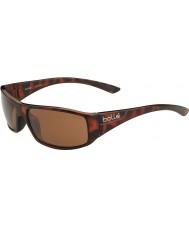 Bolle Weaver tortoiseshell brillant polarisé des lunettes de soleil a-14