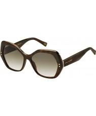 Marc Jacobs Mesdames marc 117-s ZY1 lunettes de soleil cc havane