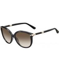 Jimmy Choo Ladies giorgy-s RCQ jd lunettes de soleil gris foncé