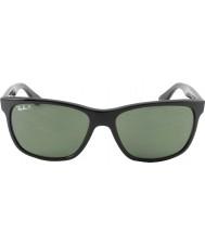 RayBan Rb4181 57 Highstreet 601-9a noir lunettes de soleil polarisées