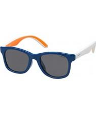 Polaroid Enfants t20 y2 bleu lunettes de soleil polarisées pld8001-