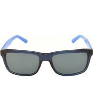 Polo Ralph Lauren Ph4098 57 vie décontracté bleu transparent 556387 lunettes de soleil
