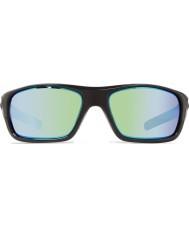 Revo Guide Re4073 ii noir brillant - lunettes de soleil polarisées eau verte