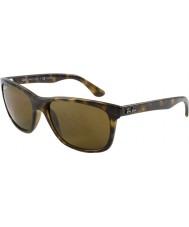 RayBan Rb4181 57 highstreet lumière écaille de tortue 710-83 lunettes de soleil polarisées