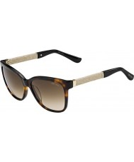 Jimmy Choo cora-s Ladies FA5 jd havane lunettes de soleil glitter