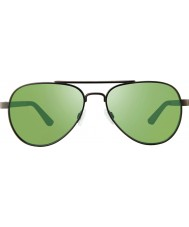 Revo Rbv1000 bono signature zifi gunmetal - lunettes de soleil polarisées verts