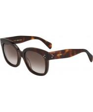 Celine Mesdames cl 41805-s 05L ha tortoiseshell lunettes de soleil