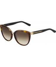 Jimmy Choo Mesdames dana-s 112 jd lunettes de soleil havane