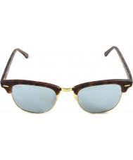 RayBan RB3016 51 sable Clubmaster écaille-or 114530 argent lunettes de soleil miroir